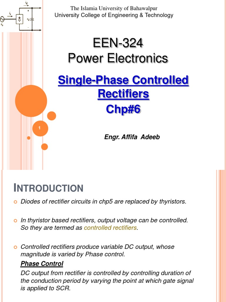 Chp6 Rectifier Direct Current Control Circuit Bridge Regulated Lab Power Supply