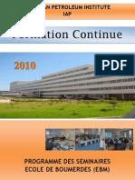 Prog Formation EBM2010