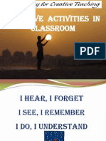Creative activities in classroom-BVB.ppt