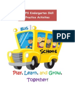 Kindergarten Skill Practice Activity Guide