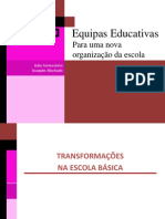 1b Equipas Docentes Escola Basica B 20-1-2012 Joao Formosinho