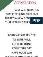 New Generation Praisefest