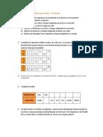 Ejercicios de proporcionalidad y porcentajes 6º primaria