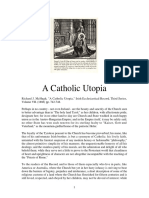 A Catholic Utopia