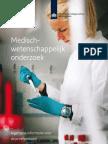 brochure medisch-wetenschappelijk onderzoek met mensen