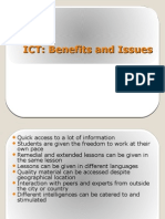 Ict Benefits and Issues