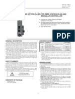 Model Xcrs - Rs232 and 485 Option Card for Data Station Plus and Modular Controller