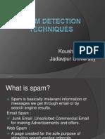 Spam Detection Technique