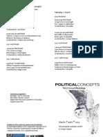 Program Reworking Political Concepts 2013