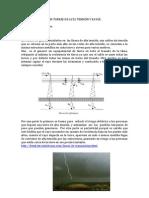 Cables de Guarda en Torres de Alta Tension y Rayos Ro