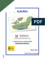 02.- Albuñol.- Introducción histórica