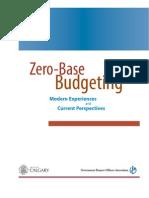 Gfo a Zero Based Budgeting