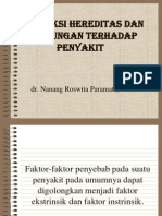 Intekaksi Faktor Intrinsik Dan Ekstrinsik PATOLOGI