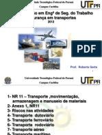 UTFPR_Segurança em transportes_Serta_2012