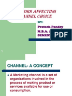 Factors Affecting Channel Choice.pps