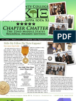 March 2009 | Iota Xi Newsletter | Special Edition