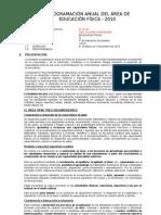 PROGRAMA ANUAL EDUC FISICA2008 1º, 2º, 3º, 4º y 5º
