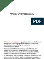 Affinity Chromatography - IMAC