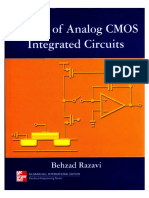 Design of Analog Cmos Integrated Circuits Razavi