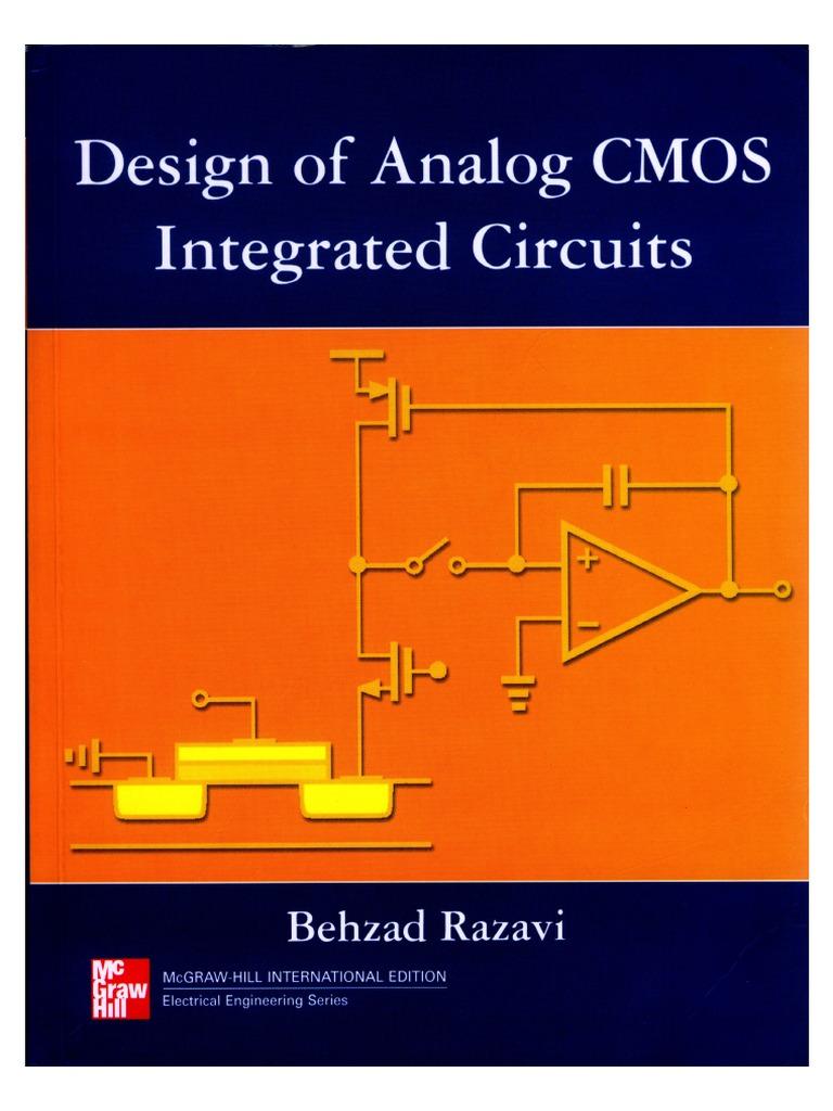 Design Of Analog Cmos Integrated Circuits Razavi Electrical Equipment Computing