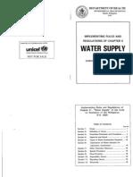 Code Sanitation IIR2-Water Supply