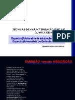 Absorcao Versus Emissao