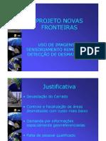 Slides Projeto Novas Fronteiras