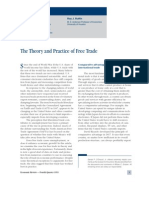 Theory and Practise of Free Trade