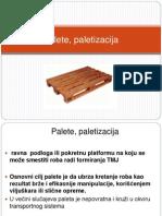Palete, paletizacija