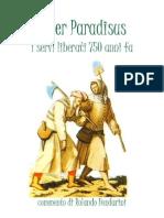 Libretto Liber Paradisus Non Impaginato
