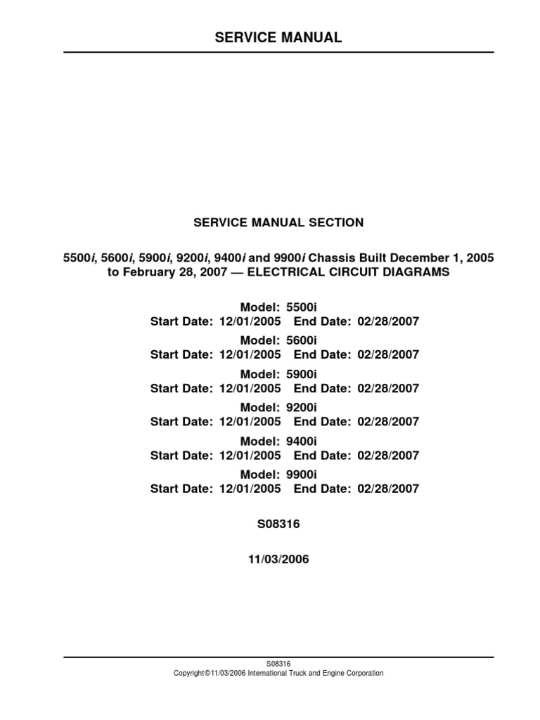 International 9900i Wiring Schematic Search For Wiring Diagrams \u2022 IH  Scout 2 Wiring Diagram 99 International 9400 Wiring Diagram
