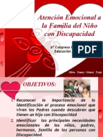 atencinemocionalalafamiliadelniocondiscapacidad-100309095135-phpapp02