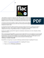 Convertir Un CD Audio en FLAC