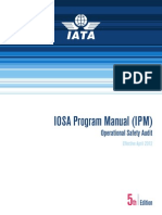 IOSA Program Manual (IPM)