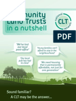 Community Land Trusts in a Nutshell