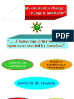 Conflict and Change Management