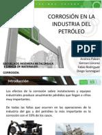 Corrosion en La Industria Del Petroleo Expo