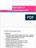 History of Child Development