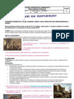 TALLER DE REFUERZO 8º  I PERIODO 2013