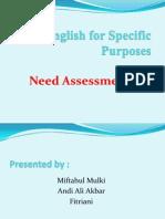 English for Spesific Purposes