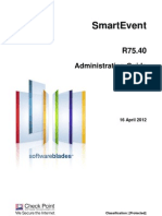CP R75.40 SmartEvent AdminGuide