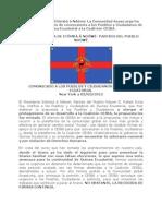 COMUNICADO de Etômbâ â Ndôwé-Paertido del Pueblo Ndowé