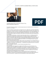 Le Vrai Visage de Paul Biya