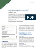 Anesthésie du patient séropositif