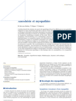 Anesthésie et myopathies