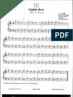 Suzuki Piano School Volume 1-Lightly Row