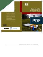 Educación y buen vivir  2012