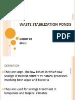 Waste Stabilsation Ponds
