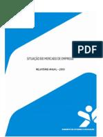 Relatório Anual Mercado de Emprego - 2010_versão final