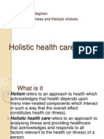 Holistic health care.pptx